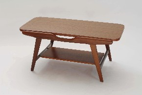 Table with reversible plate