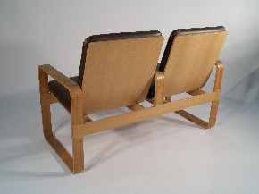 Two-seat sofa design Rud Thygesen & Johnny Sorensen
