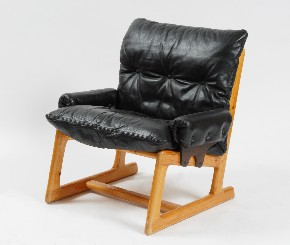 Leather armchair II.