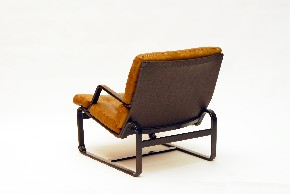 Leather armchair VI.