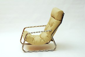 Leather armchair VII.