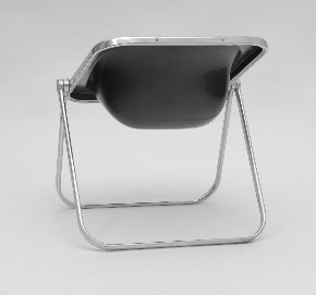 Black folding chair Plona