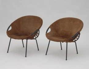 Set of LUSCH lounge chair
