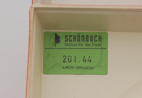 Schönbuch Quadro orange set