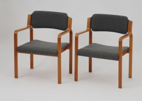 Set of 6 TON dining chairs