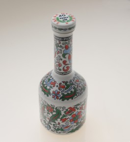 Metaxa 40 years old ceramic bottle