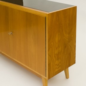 Sideboard with opaxit glass