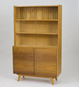 Bookcase with display