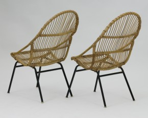Rattan chairs Alan Fuchs