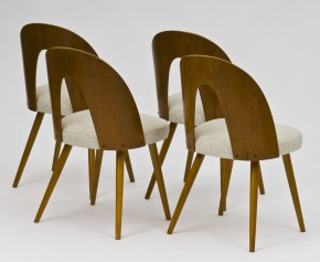 Set of 8 chairs by Antonín Šuman
