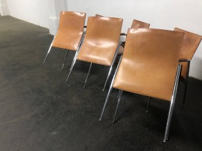 Set of 6 chairs Fasem