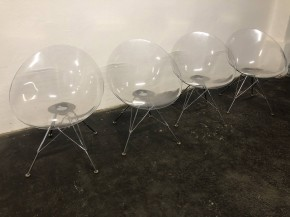 Set of 4 Eros chairs